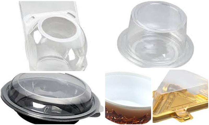 Plastik Yuvarlak Salata Setleri