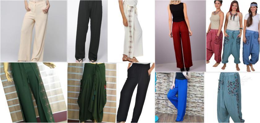 Tril Tril Rengârenk şile Bezi Pantolonlar