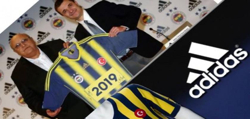 Adidas Fenerbahçe Spor Kulübü ile Anlaştı