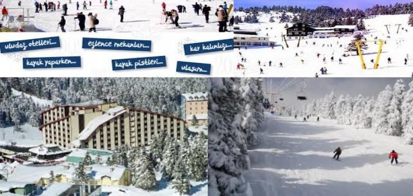 Bursa Uludağ Büyük Otel Kayak Tatili