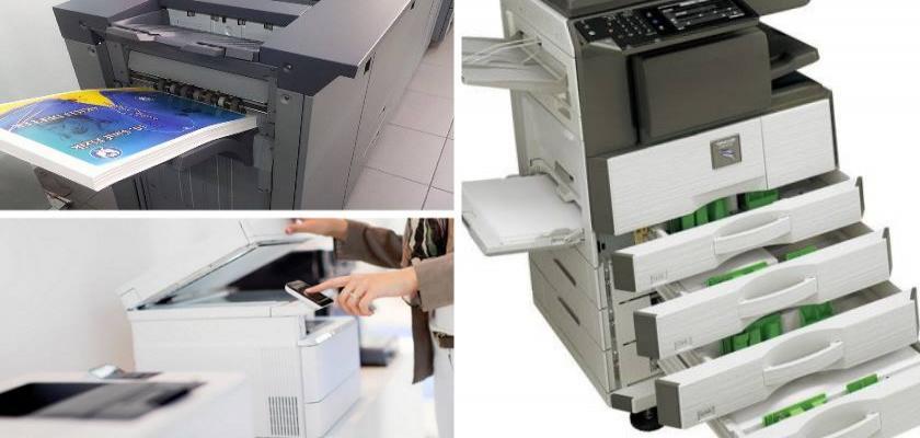 İhtiyaca Göre Fotokopi Makinelerine Opsiyonel Takılan Parçalar