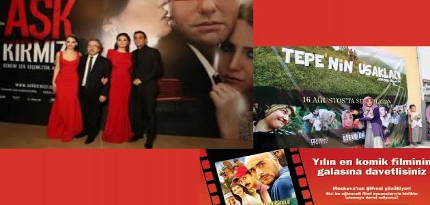 Vizyondaki En Son Sinema Filmlerinin Tanıtımı