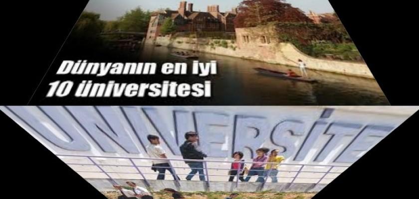 Dünyanın En İyi Üniversiteleri ilk 10 Üniversite