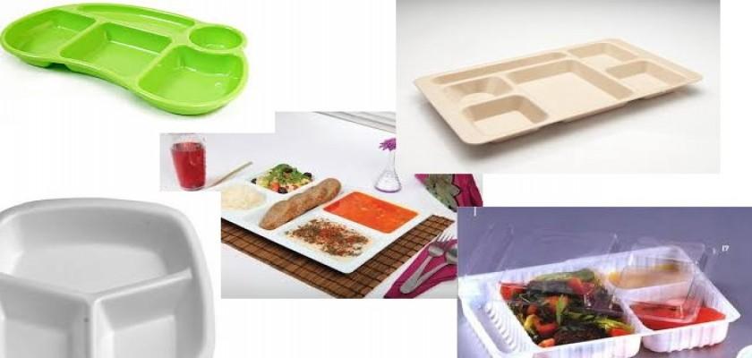 Plastik Yemek Tabakları ve Tabldotlar