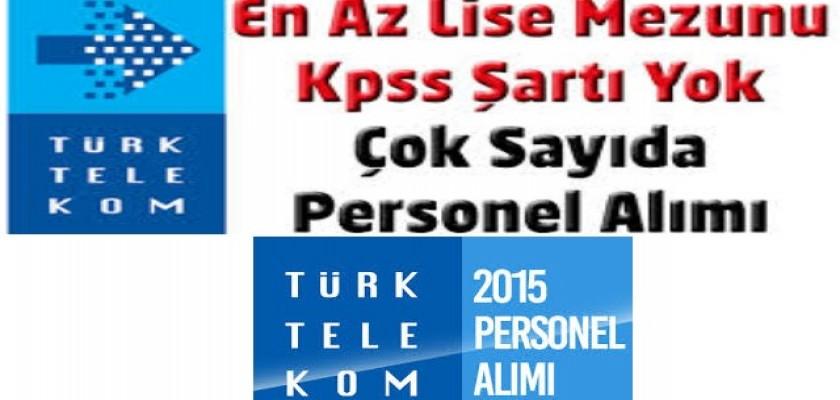 Türk Telekom Personel Alımına Başladı